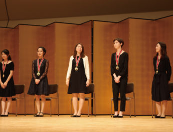 The 29th Japan Woodwind Competition (Flute) Winners